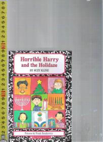 【优惠特价】原版英语故事书 Horrible Harry and Holidaze / Suzy Kline【店里有许多英文原版小说欢迎选购】
