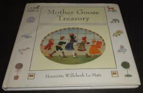 2手英文 The Mother Goose Treasury nursery rhymes 古老民谣绘本 scc48