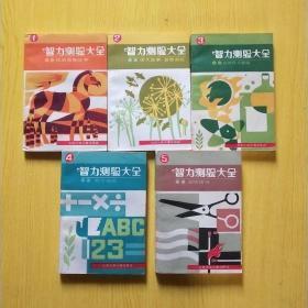 智力测验大全 民间益智故事,语文故事益智游戏,自然科学趣题,数学趣题 ,图形游戏 尹明 艾克著全五册
