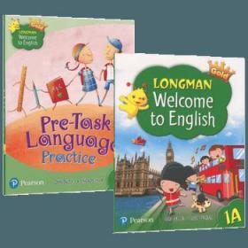 朗文小学英语1A一年级上学期教材+综合练习册 英文原版 Longman Welcome to English Gold