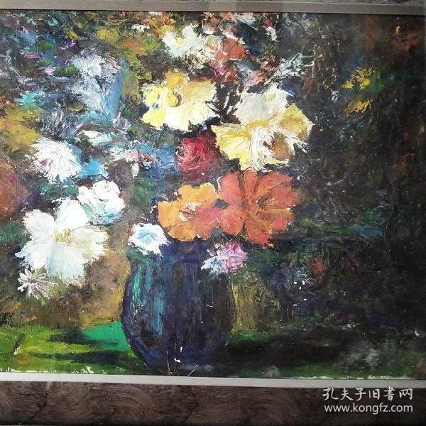 花卉—油畫