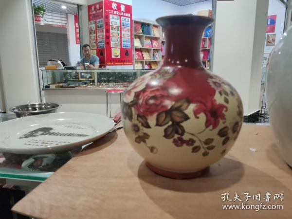 彩繪工藝陶瓶