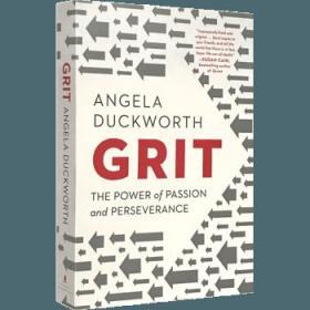 Grit书英文原版 勇气 热情与坚毅的力量 Grit The Power of Passion and Perseverance