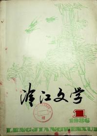 冷江文学  创刊号
