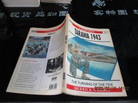 CANPAIGN TARAWA1943  THE TURNING OF THE TIDE DERRICK WRIGHT    品如图   8-2号柜