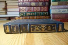 莎士比亚的七部剧 William Shakespeare . Franklin Library  竹节书脊 三面刷金