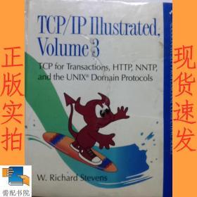 英文书 TCP/IP Illustrated:v. 3: TCP for Transactions, HTTP, NNTP and the Unix Domain Protocols