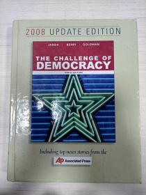 the challenge of democracy【精装 稍有荧光笔画线】