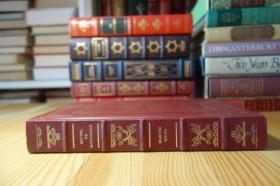 Michel de Montaigne: Twenty-Nine Essays 蒙田随笔  The Frankin Library 竹节书脊 三面刷金