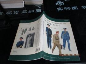 British Commanders of World War II  英国第二次世界大战各国指挥官列表    品如图  8-2号柜