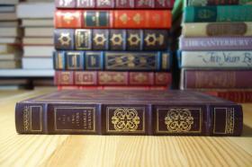 狄更斯的双城记 A Tale of Two Cities 竹节书脊 三面刷金 The Franklin Library