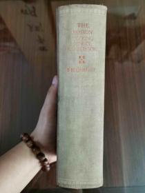 1936年精装厚本《THE BOSTON COOKING SCHOOL COOK BOOK》波士顿烹饪学校烹饪书  内有题跋