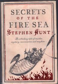 16开精装本(带护封)、英文原版:《Secrets of the Fire Sea 火海的秘密》