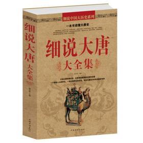 细说大唐大全集 唐朝那些事儿畅销书籍古代秘史 血腥的盛唐 图说天下中国历史系列 历史参考书