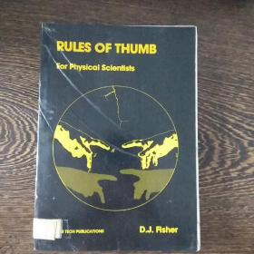 RULES OF THUMB For Physical Scientists