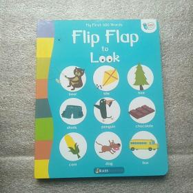 my first 300 words flip flap to look