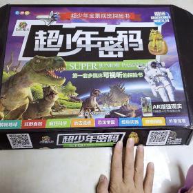 超少年全景视觉探险书-疯狂科学-狂野自然-恐龙帝国-远古遗迹-解谜地球-外星怪客-超级武器-终极探险