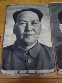 中国杭州都锦生丝织厂  毛泽东 周恩来 朱德2张 列宁 斯大林 马克思 恩格斯  (8张合售)