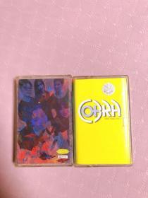 摇滚音乐眼镜蛇磁带两盒