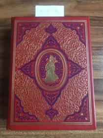 【现货在美国家中、2周左右到国内、全国包顺丰】Tales from The Arabian Nights,《一千零一夜》,Sir. Richard F. Burton(英译),富兰克林图书馆出版的世界永恒经典100本名著系列丛书之一, 1977年限量版 A Limited Edition(请见实物拍摄照片第6张版权页),精装,厚册(769页),豪华全真皮封面,三面刷金,珍贵外国文学参考资料 !