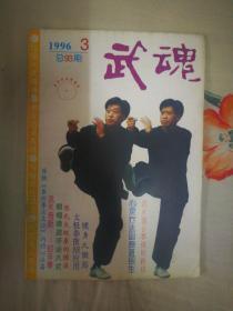 ZCD 武术类:武魂 1996.3(总第93期、本期要目:峨嵋拳应手法八式、封手拳、健身九锻筋)