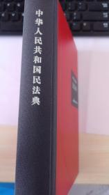 正版精装大字版中华人民共和国民法典2020新版