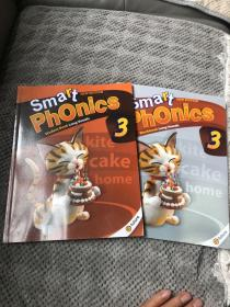 smart phonics 3+一本练习册(两本)