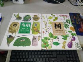 自然科学绘本:《鸟巢》 《树》2册合售