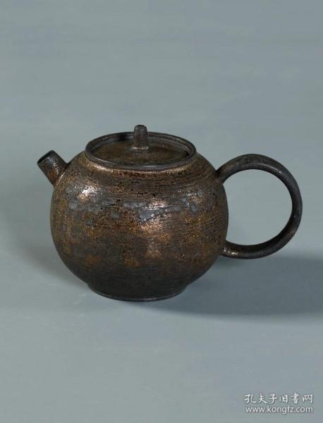 柴燒陶茶壺