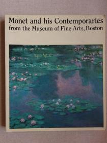仅此一册 monet and his contemporaries 莫奈和印象派 印象派油画大师莫奈作品集 日文原版