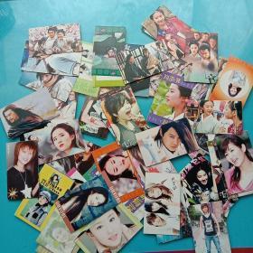各種名星卡片(60張)