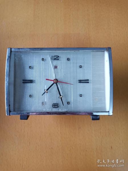 懷舊收藏: 上海鉆石方形鬧鐘(能鬧不能走)配件出