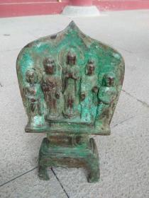 青銅器五佛像