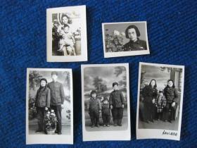 五六十年代有背景的老照片5张