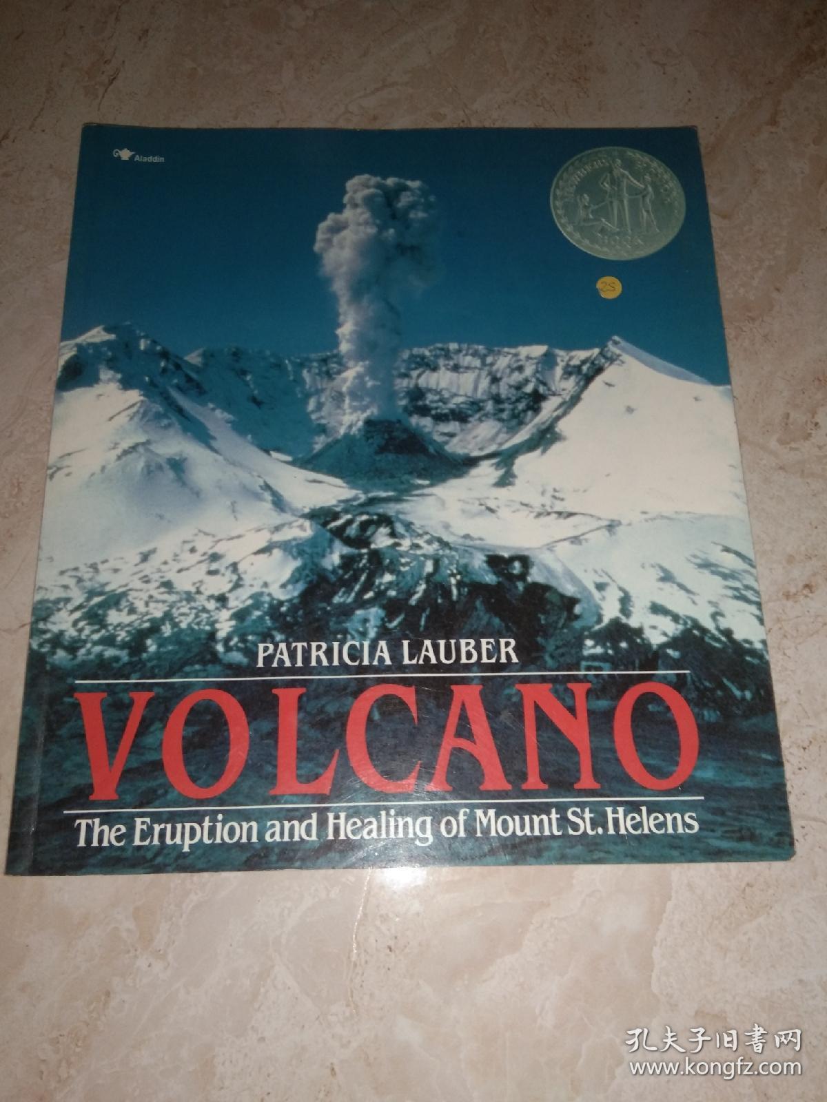 Volcano: The Eruption and Healing Mount St. Helen[火山: 圣海伦火山的爆发和恢复]
