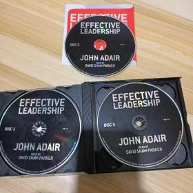 EFFECTIVE LEADERSHIP(光盘三张)