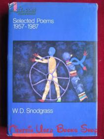 Selected Poems, 1957-1987(英语原版 精装本)诗选,1957-1987年
