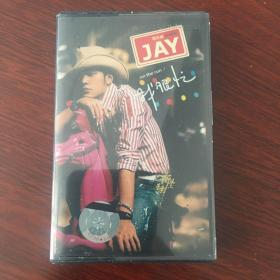 周杰伦磁带,我很忙 品相不错,拆开一次未听