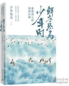 鲜衣怒马少年时-唐宋诗人的诗酒江湖(前书皮有笔记,不妨碍阅读)