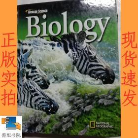 英文书  Glencoe  science  biology 格伦科科学生物学