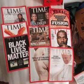 time 2015 外文杂志  9册