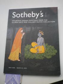 苏富比   胡伊克收藏 印度绘画作品