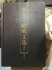 昭明文选译注 精装 全6册