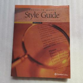 Franklin Covey Style Guide【附光盘】