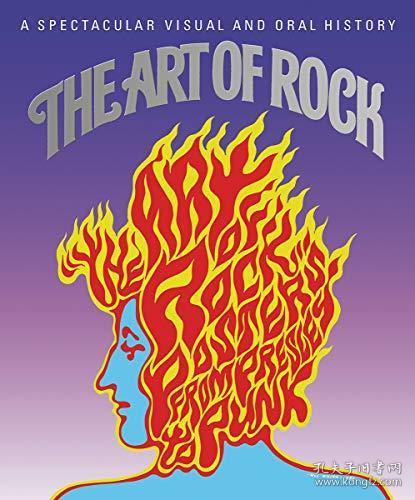 【现货】Art of Rock: Posters from Presley to Punk: Tiny Folio