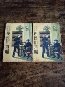 民国三十年版世界侦探名著《神秘的遗嘱》上下册