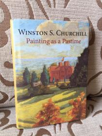 Painting as a pastime by Winston Churchill 丘吉尔《绘画消遣》