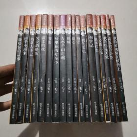 三毛全集:全19册(缺第9册)共18册合售