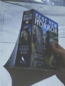 实物拍照;THE  MAMMOTH  BOOK  OF  BEST  NEW  HORROR
