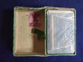 民國撲克(近全品)一副——Thomas De La Rue & Co Ltd 印鈔公司在中國印制的—— 沒有拆封,  只能見到背面是鳳凰圖